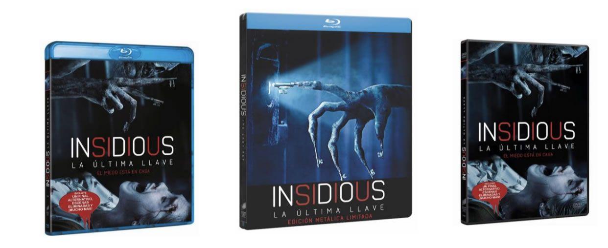 """""""Insidious: La Última Llave"""": Os mostramos una featurette exclusiva del Blu-Ray"""