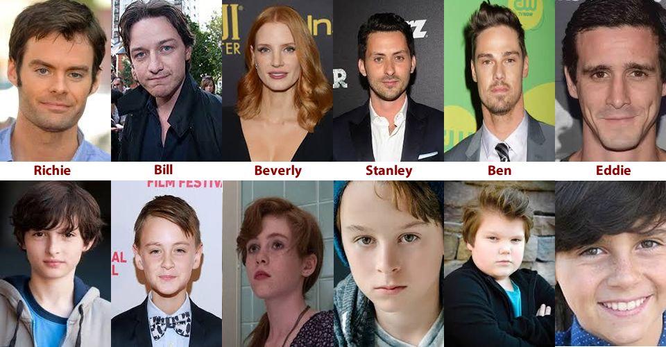 """""""IT: Capítulo 2"""": ¿Quién es quién en la película que se estrenará en 2019?"""