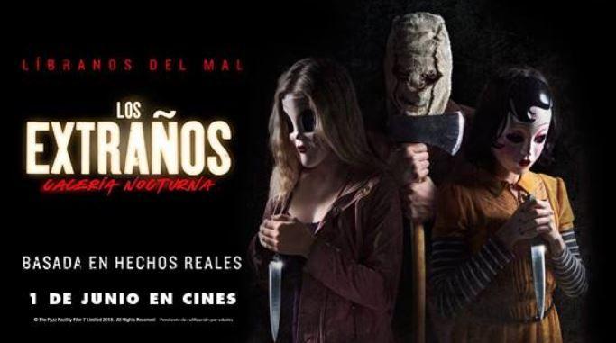 """""""Los Extraños: Cacería Nocturna"""": Sorteamos entradas dobles"""