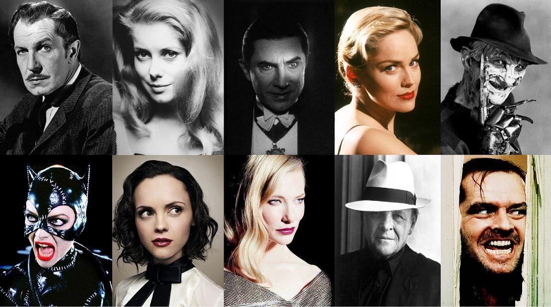 Los 60 mejores actores y actrices en papeles de villanos en el cine