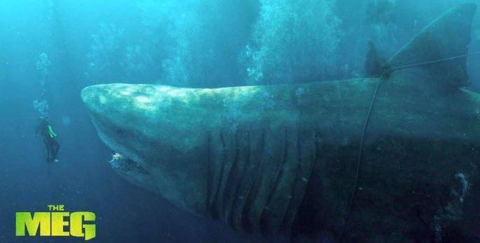 """Crítica de """"Megalodón"""" - Jason Statham vs un tiburón prehistórico"""