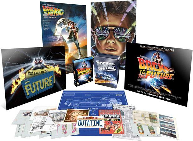 """""""Regreso al Futuro"""": Abierta las reservas de la edición limitada en Blu-Ray de la saga"""