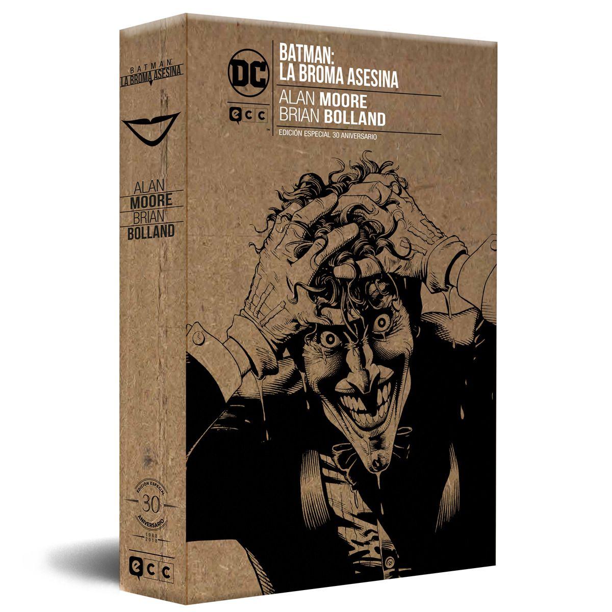 """""""Batman: La Broma Asesina"""": La edición 30º aniversario ya puede reservarse"""