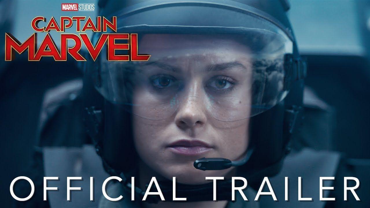 """""""Capitana Marvel"""": Primer Tráiler Oficial de la película. En cines en marzo de 2019."""