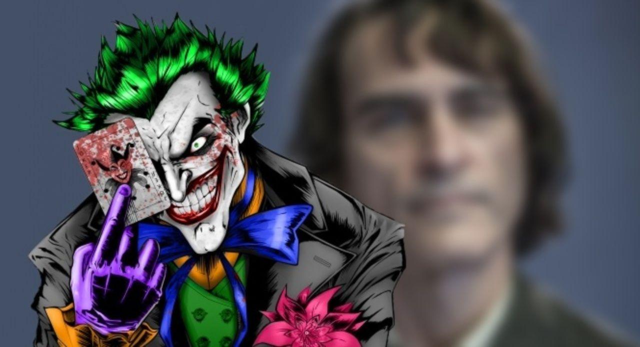 Primer vistazo a Joaquin Phoenix (maquillado) como el Joker