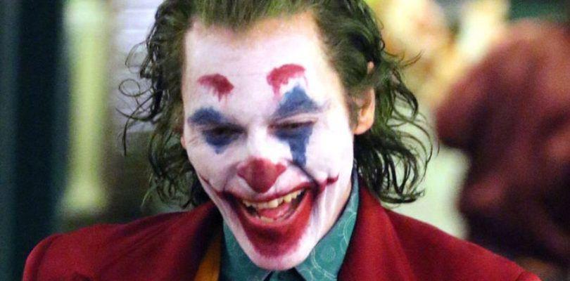 Joaquin Phoenix en acción como el Joker en un vídeo del rodaje