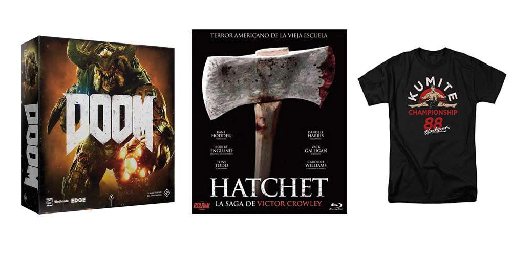 Juegos de mesa, la saga Hatchet y moda entre las ofertas del día
