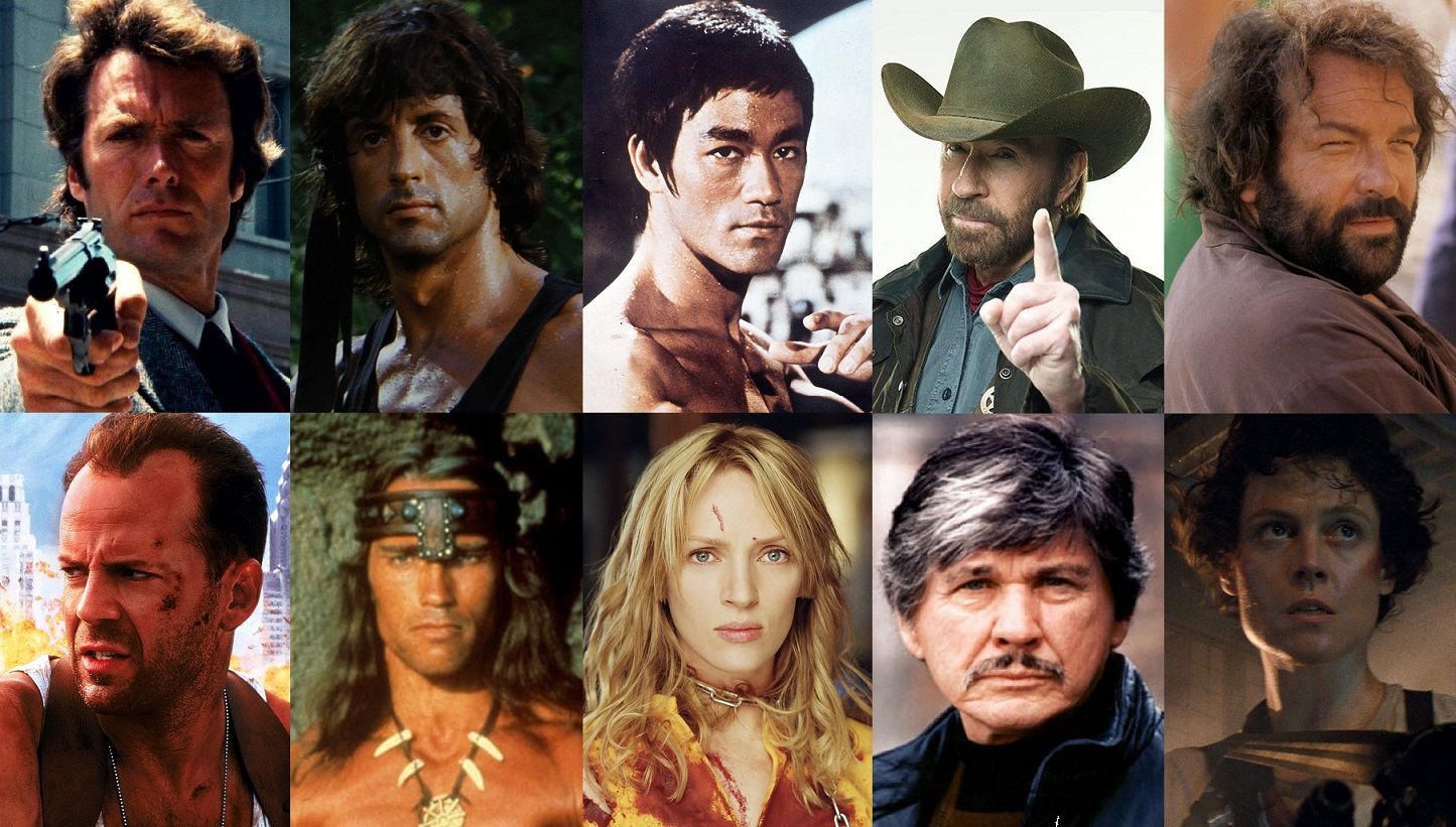 ESPECIAL: Los mejores héroes del cine de acción de la historia
