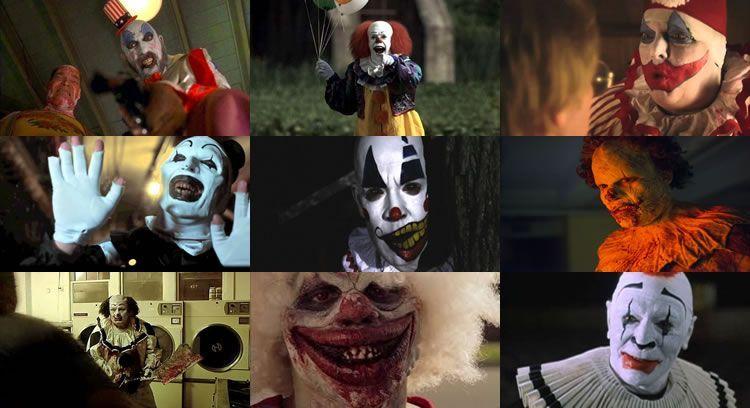 Las 25 películas con payasos más terroríficas de la historia del cine