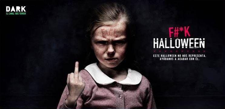 #FuckHalloween: Dark y Movistar+ te animan a defender el día de Halloween