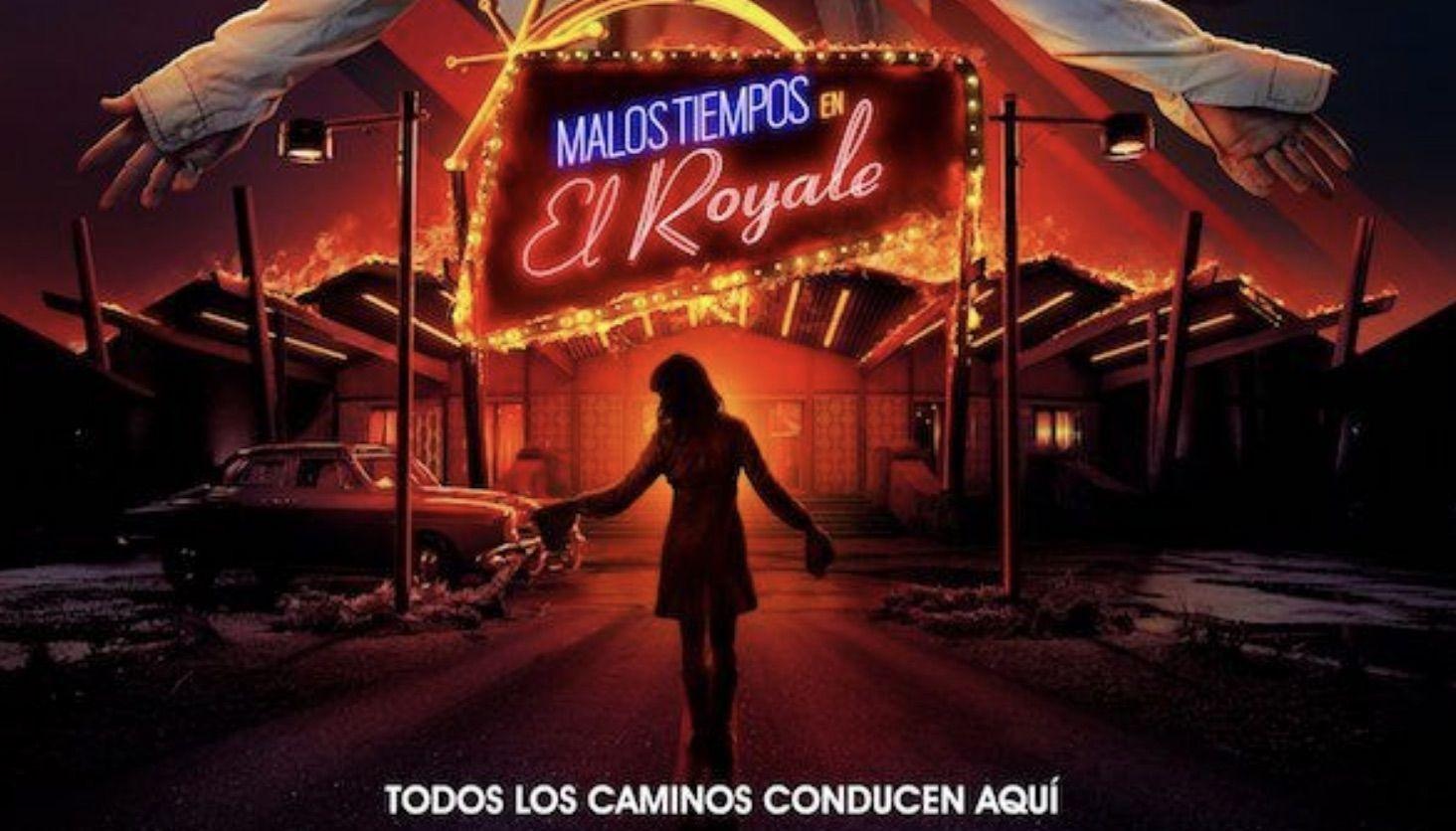 """Crítica de """"Malos Tiempos en el Royale"""" (****). Hoy estreno en cines."""
