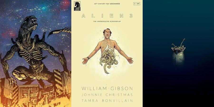 """""""Alien 3"""": El guión original de William Gibson se convertirá en cómic"""