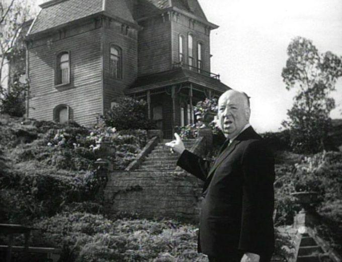 """Retro: 15 magníficas imágenes del rodaje de """"Psicosis"""" de Alfred Hitchcock"""