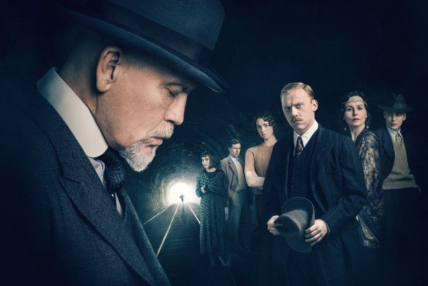 """The ABC Murders"": Nuevo vistazo a John Malkovich como Hercules Poirot"