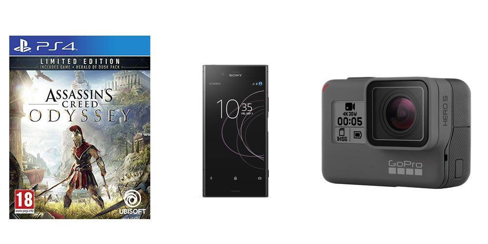 Videojuegos, smartphones y GoPro en el Top 20 de ofertas del día