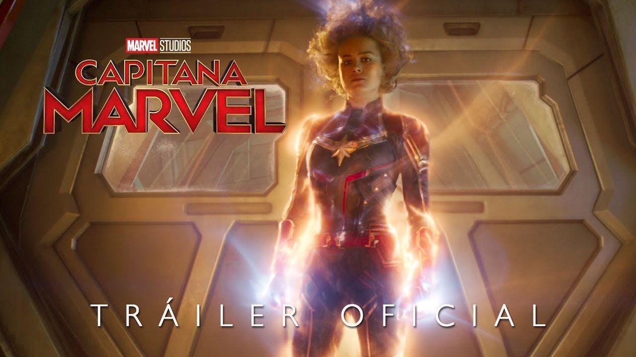 """El nuevo tráiler en español de """"Capitana Marvel"""". Estreno en cines el 3 de marzo."""
