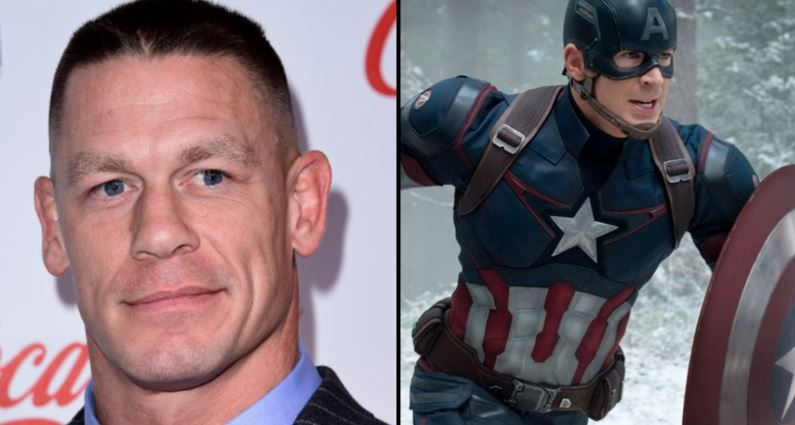 John Cena quiere ser el sustituto de Chris Evans como el nuevo Capitán América
