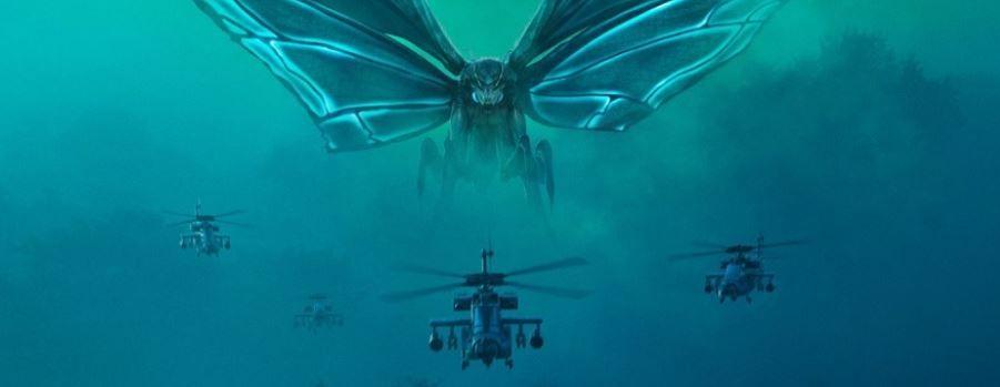 """""""Godzilla: Rey de los Monstruos"""": Pósters de Mothra, Rodan y Ghidorah"""