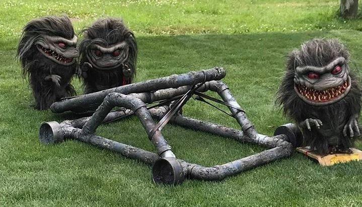 "Primeras imágenes del rodaje de la serie ""Critters: A New Binge"""