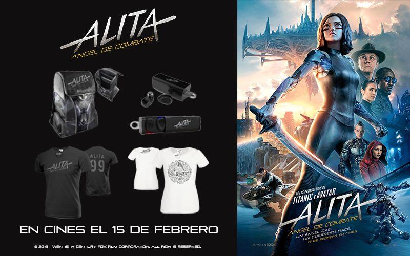 """Sorteamos packs de merchandising de """"Alita: Ángel de Combate"""""""