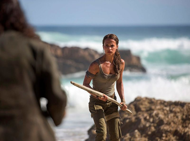 Lara Croft Alicia Vikander