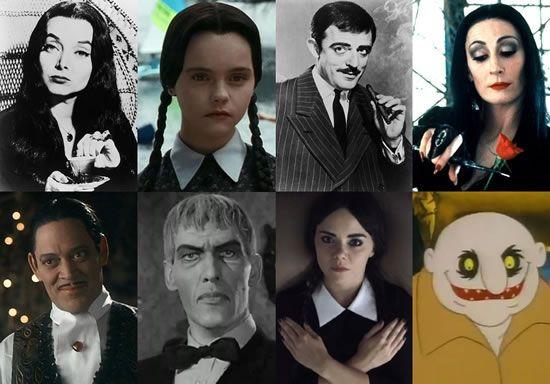 La Familia Addams Personajes. Simple El Nombre De Este Personaje Es ...