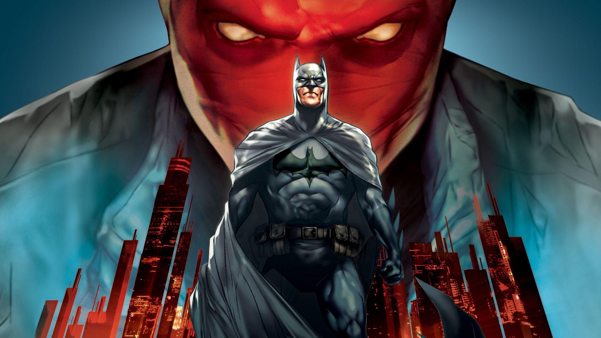 Capucha Roja Batman