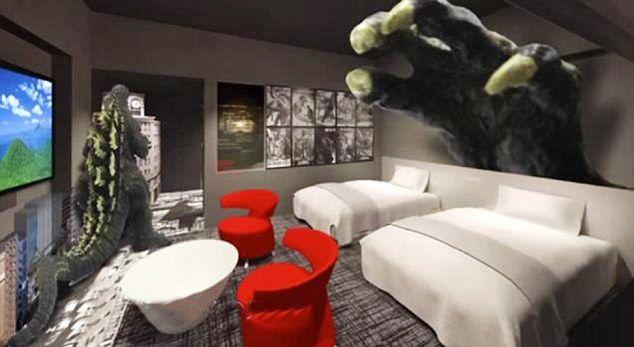 Abren Un Hotel Tem 225 Tico De Quot Godzilla Quot En Tokio Aullidos Com