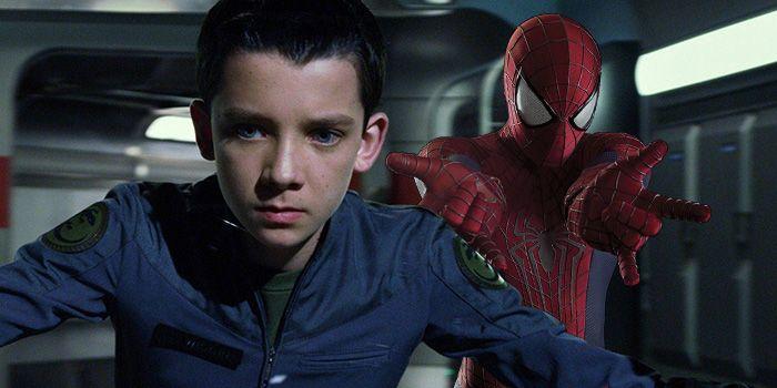 Asa Butterfield nuevo spiderman