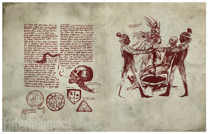 PRimeras Imagenes Necronomicon
