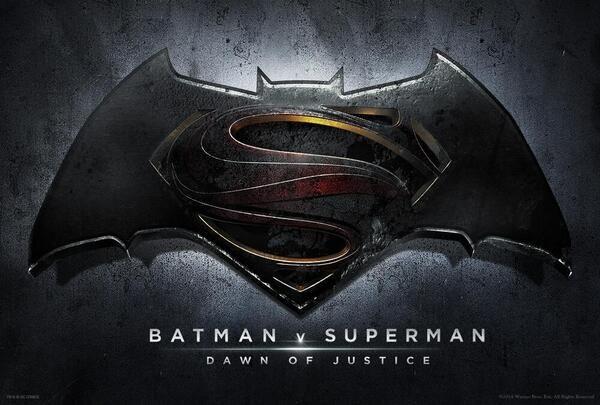 Logo Superman vs Batman
