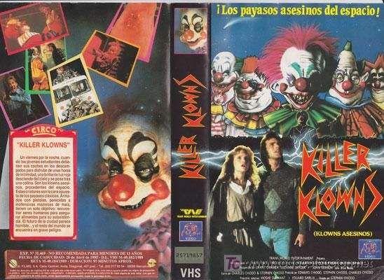 Carátula de Killer Clowns