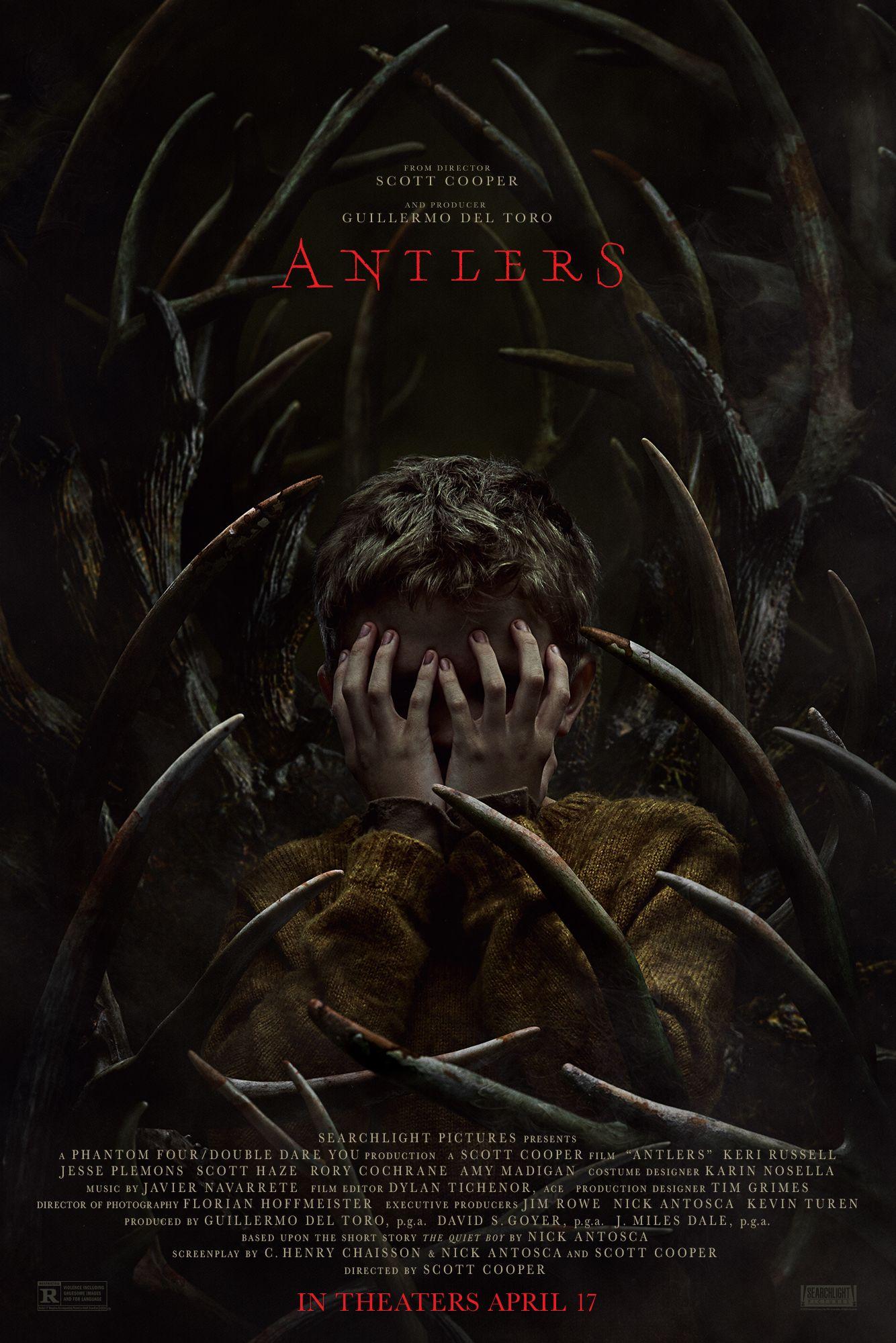 Nuevo póster de 'Antlers', uno de los títulos más esperados del año - Aullidos.com