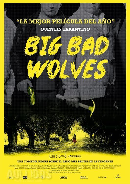 Poster español Big Bad Wolves