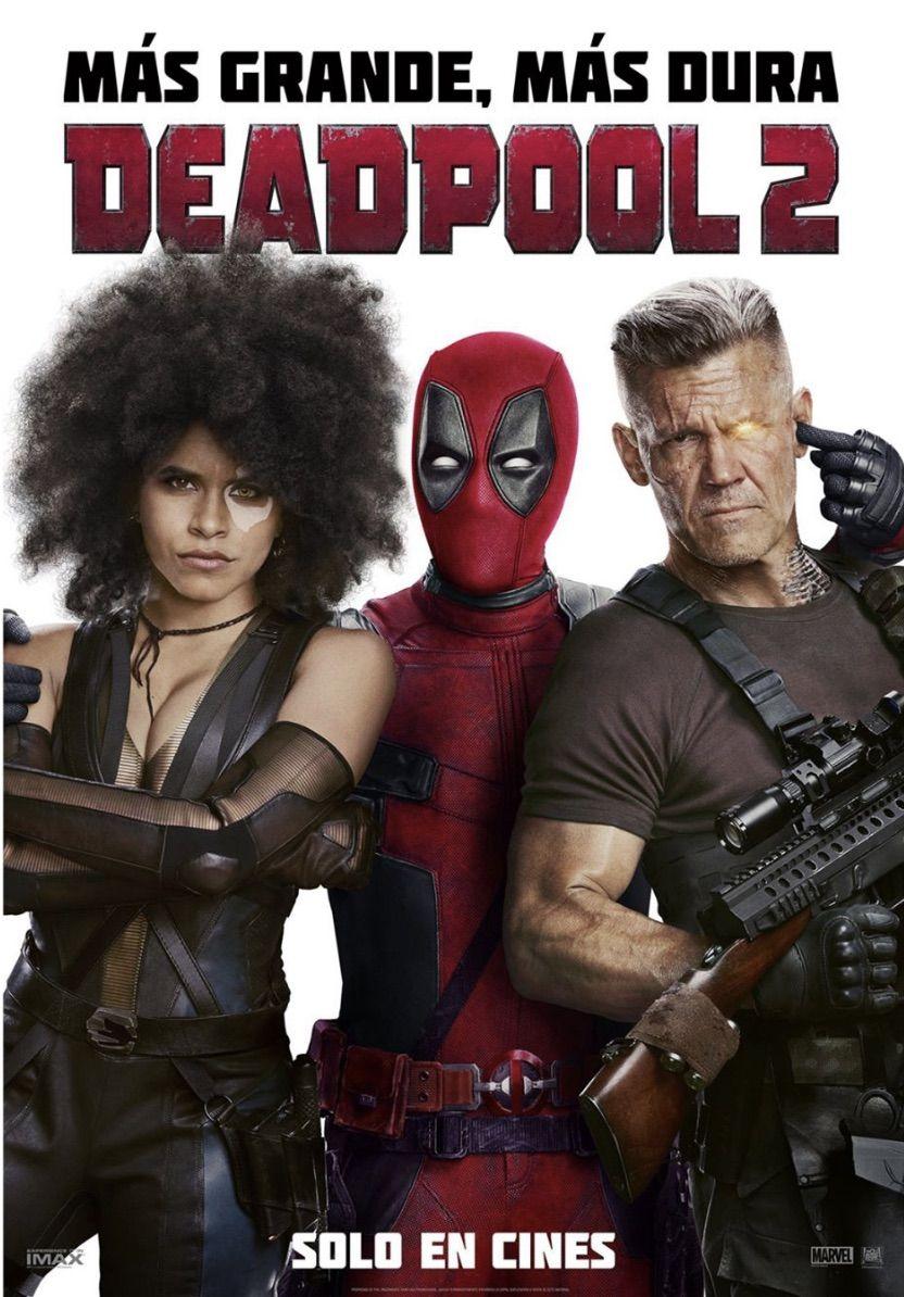 Deadpool 2 nuevo poster