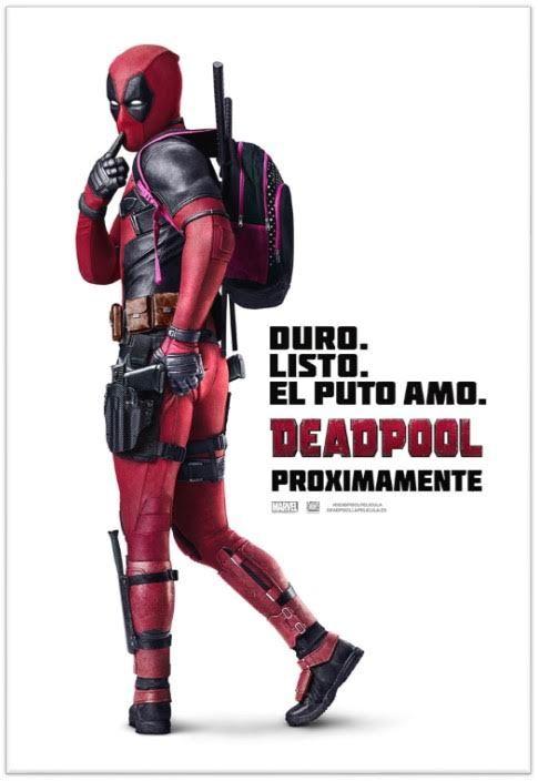 Poster español deadpool