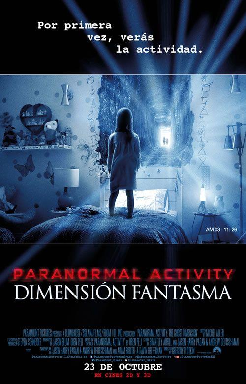 Paranormal activity dimension fantasma preestreno