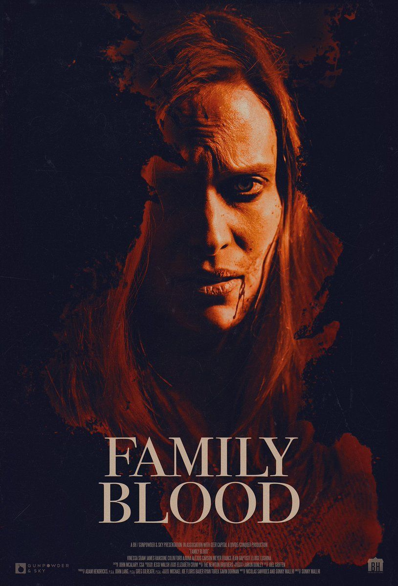Poster Family Blood