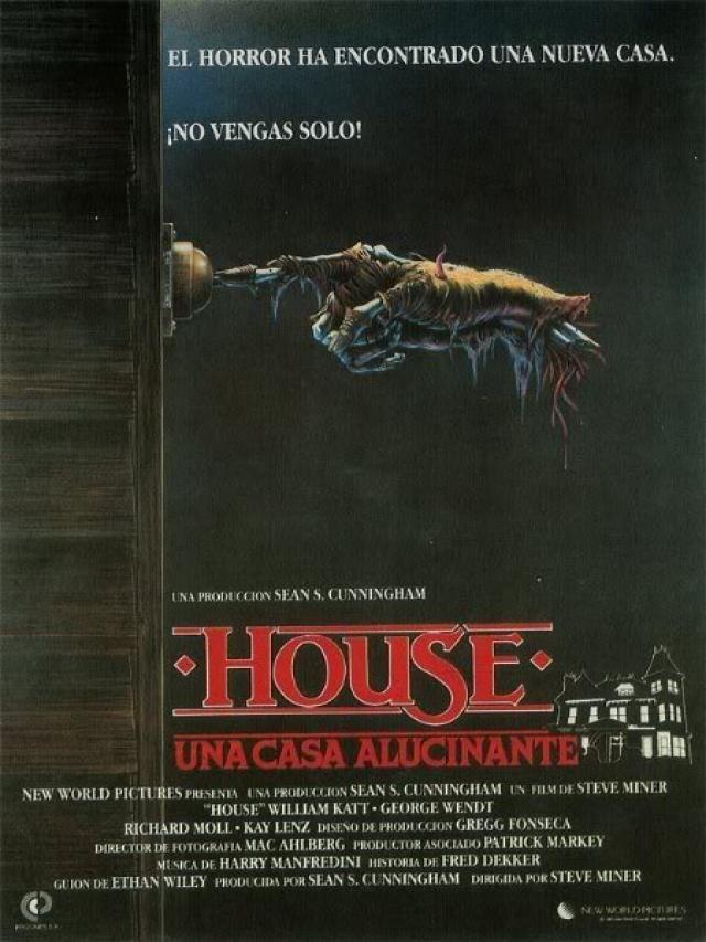 Poster House Casa Alucinante