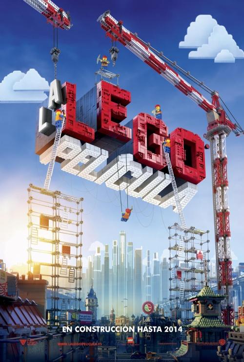 Póster La Lego Película