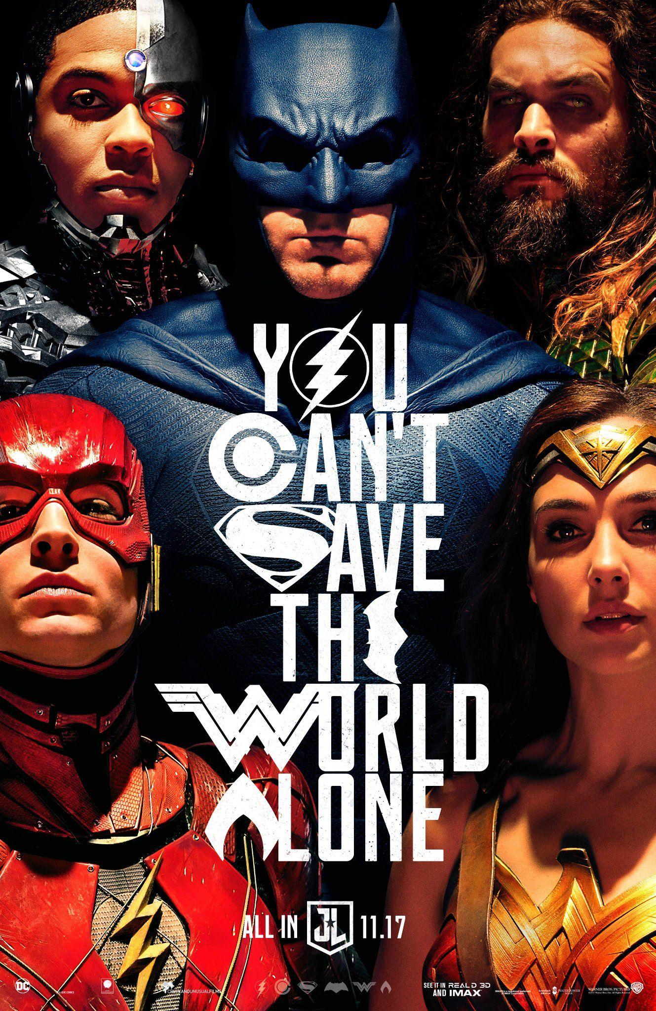 La Liga de la Justicia Poster