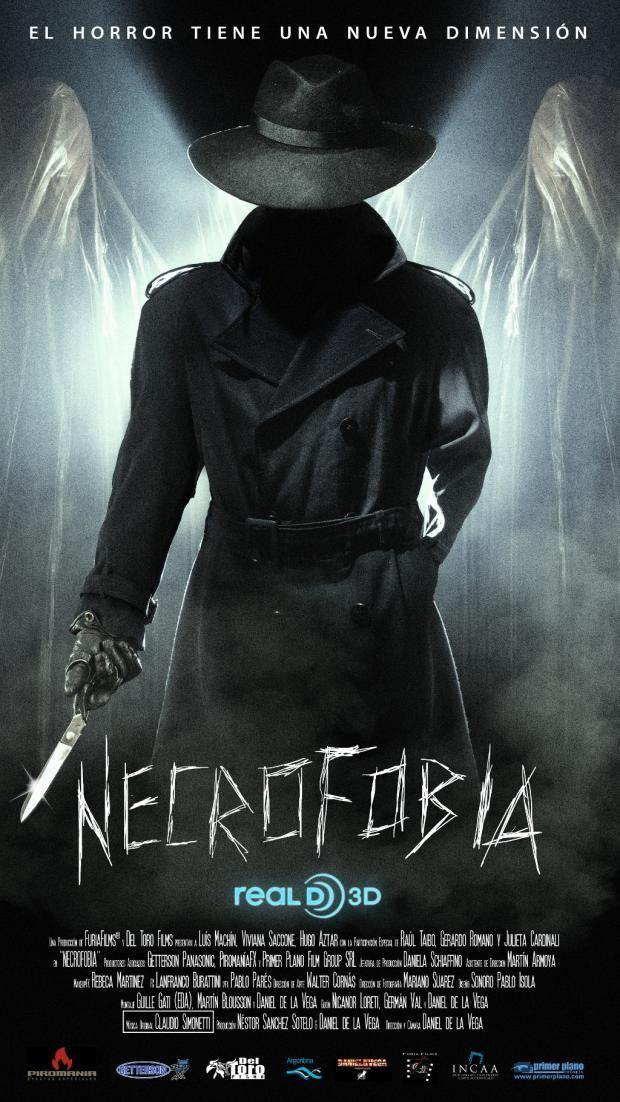Póster Necrofobia 3D