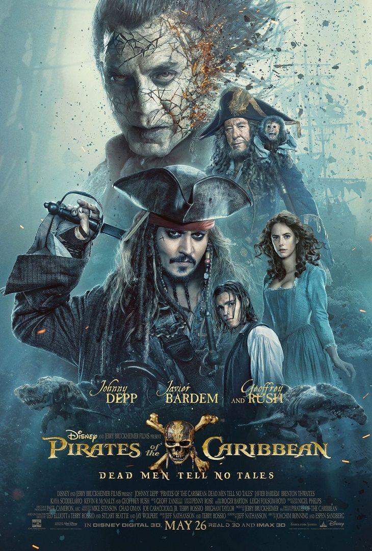 Poster Piratas del Caribe