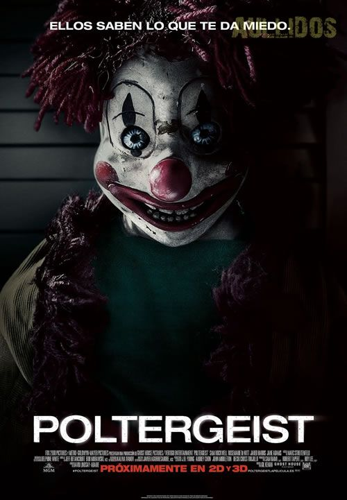 Fecha poster español Poltergeist