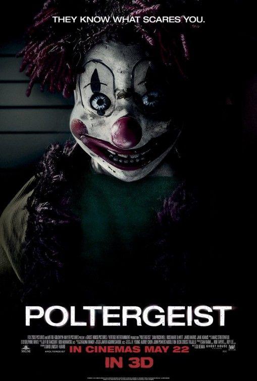 Poster britanico Poltergeist