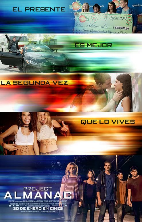 Poster Project Almanac