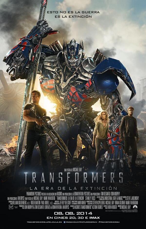Transformers Era Extincion
