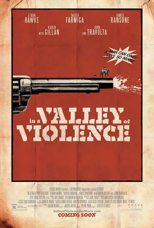 Poster In The Valley of Violence