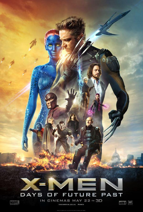Taquilla X-Men Dias Futuro Pasado