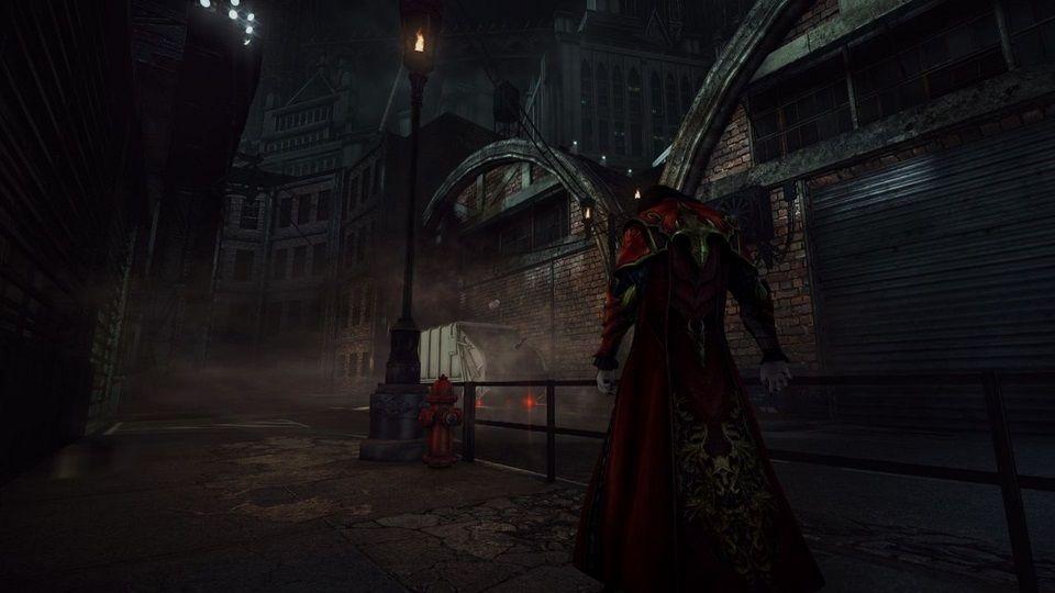 Dracula en la actualidad en Castlevania Lords Of Shadows 2